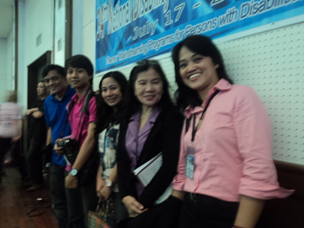 COMELEC IT Team led by MISD Acting Chief Eden Bolo (extreme right), the team that won the award for