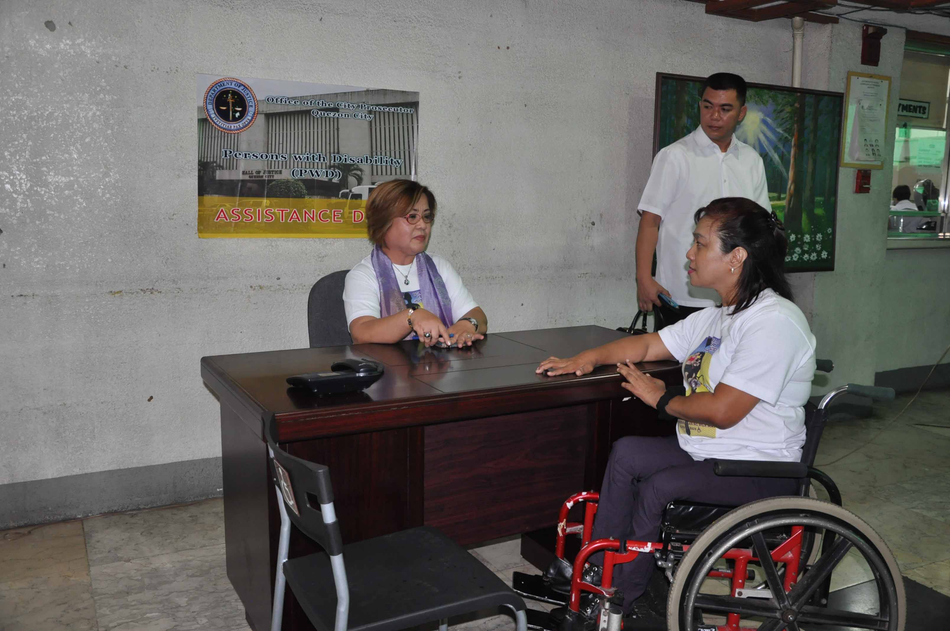 Secretary De Lima with AED Zubiaga