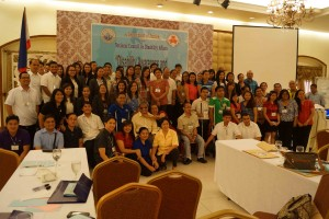 Group photo of seminar participants on access to justice  for persons with disabilities -Bicol Region