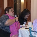 Ms. Joy Garcia calls for a unified and comprehensive efforts to make DRRM disability and gender inclusive