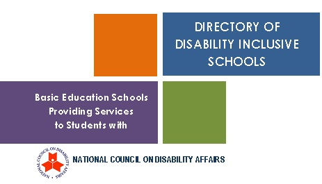 Directory of Disability Inclusive Schools