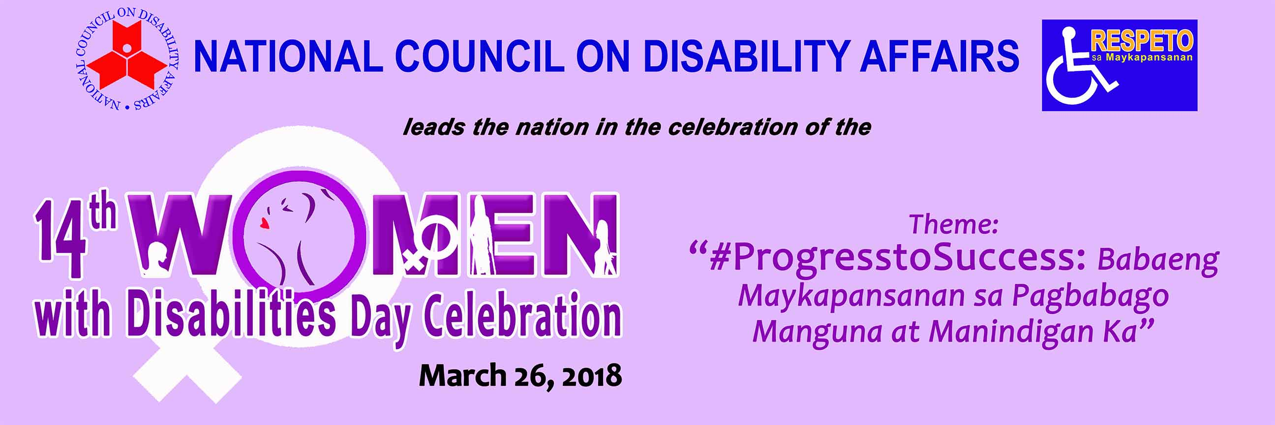 2018 Women with Disability
