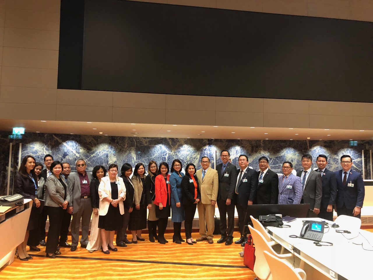 Philippine Delegation to the First Constructive Dialogue