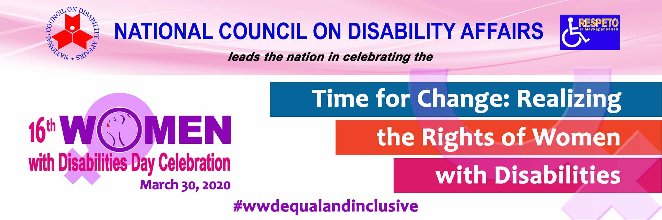 2020 Women with Disability