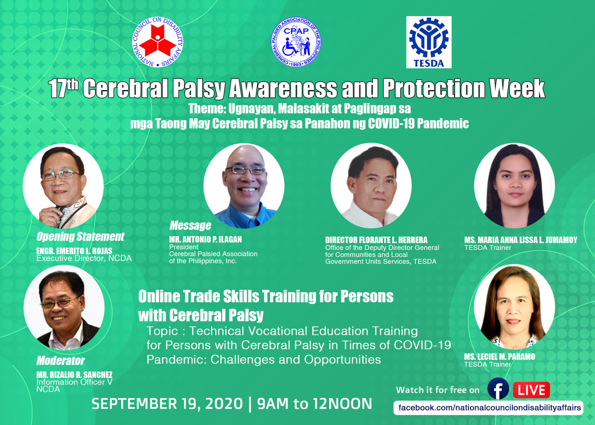Online Trade Skills Training for Persons with Cerebral Palsy
