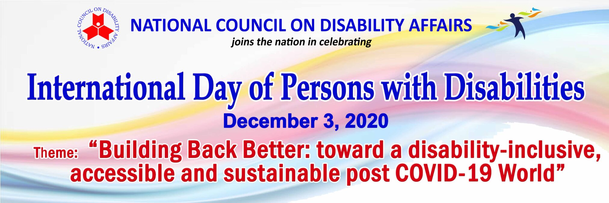 """""""Building Back Better: toward a disability-inclusive, accessible and sustainable post COVID-19 World"""""""