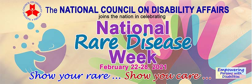 National Rare Disease Week February 22-28, 2021