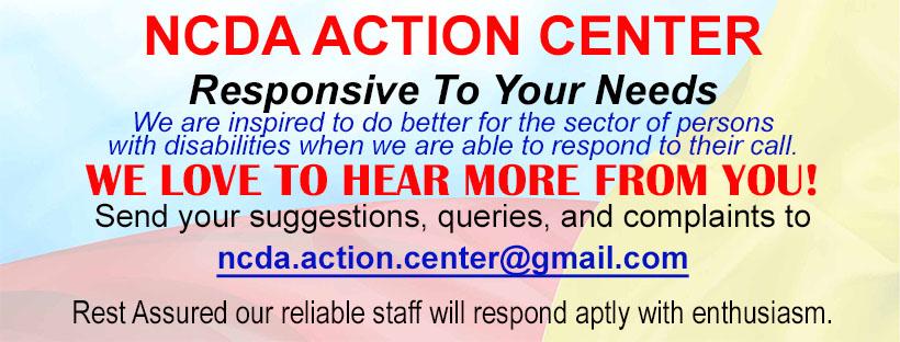 NCDA Action Center