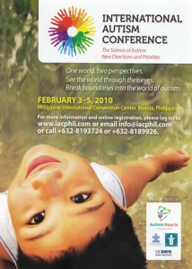 International Autism Conference Poster