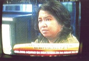 Ms. Myrna Medrano interviewed on the impact of SONA to her and other deaf persons