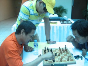 GM Antonio supervises the competition