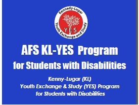AFS KL-YES Program for Students with Disabilities