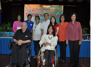 Department of Health REPRESENTATIVES with ED Carmen and ICT SubCom vice-Chair Noli Agcaoili