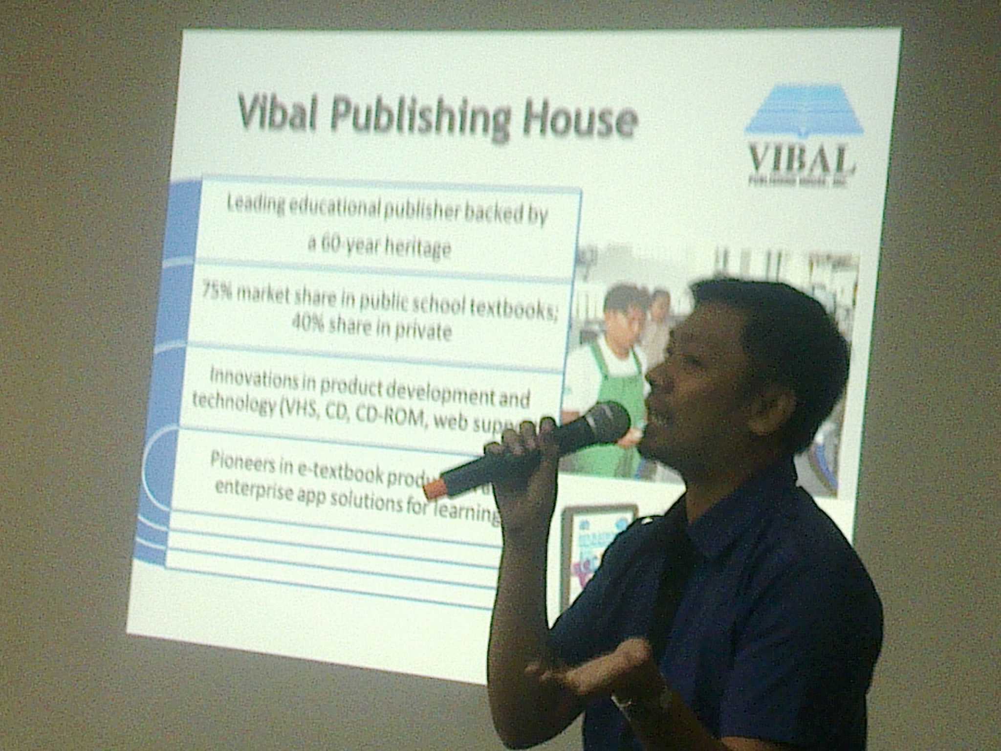 Vibal Publishing House, Inc. Operations Manager Mr. Chris Datol