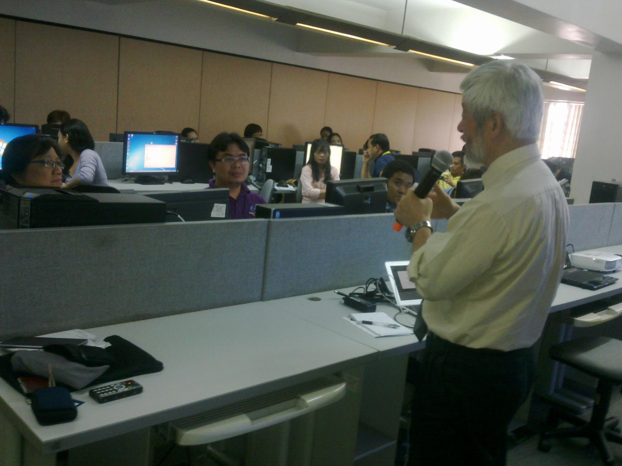 ATDO President Hiroshi Kawamura