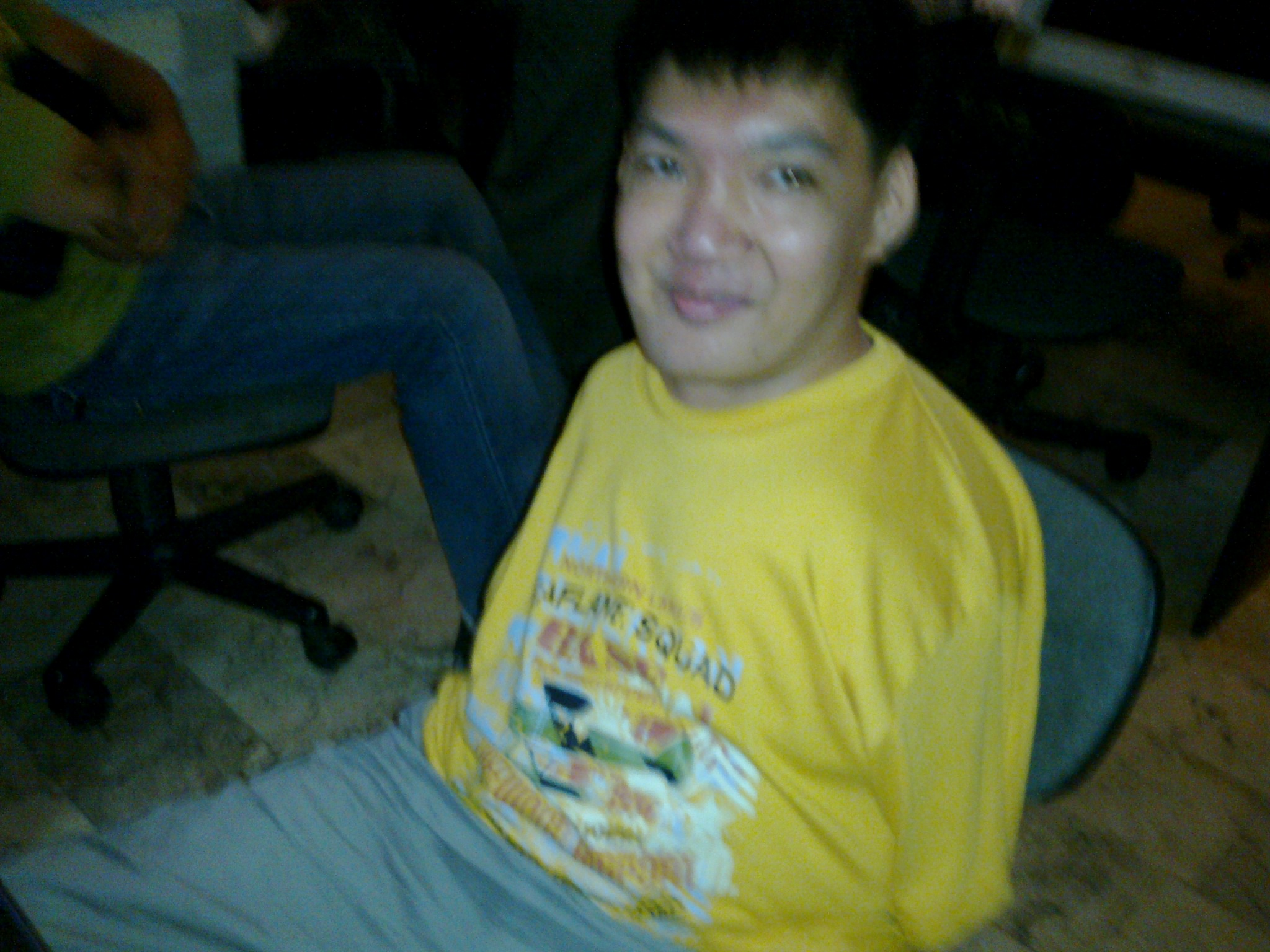 Image of trainer sir Eric Tansinco of Take 1 Animation