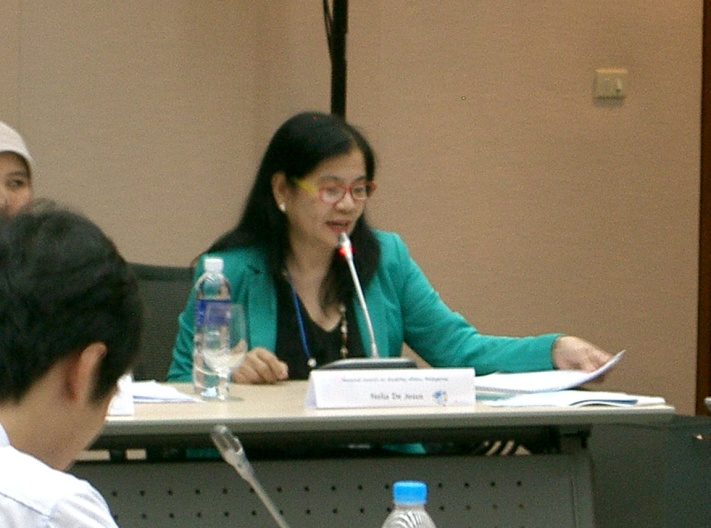 "Ms. Nelia R. de Jesus joins AP women panelists passionate on ""  inclusive information""."