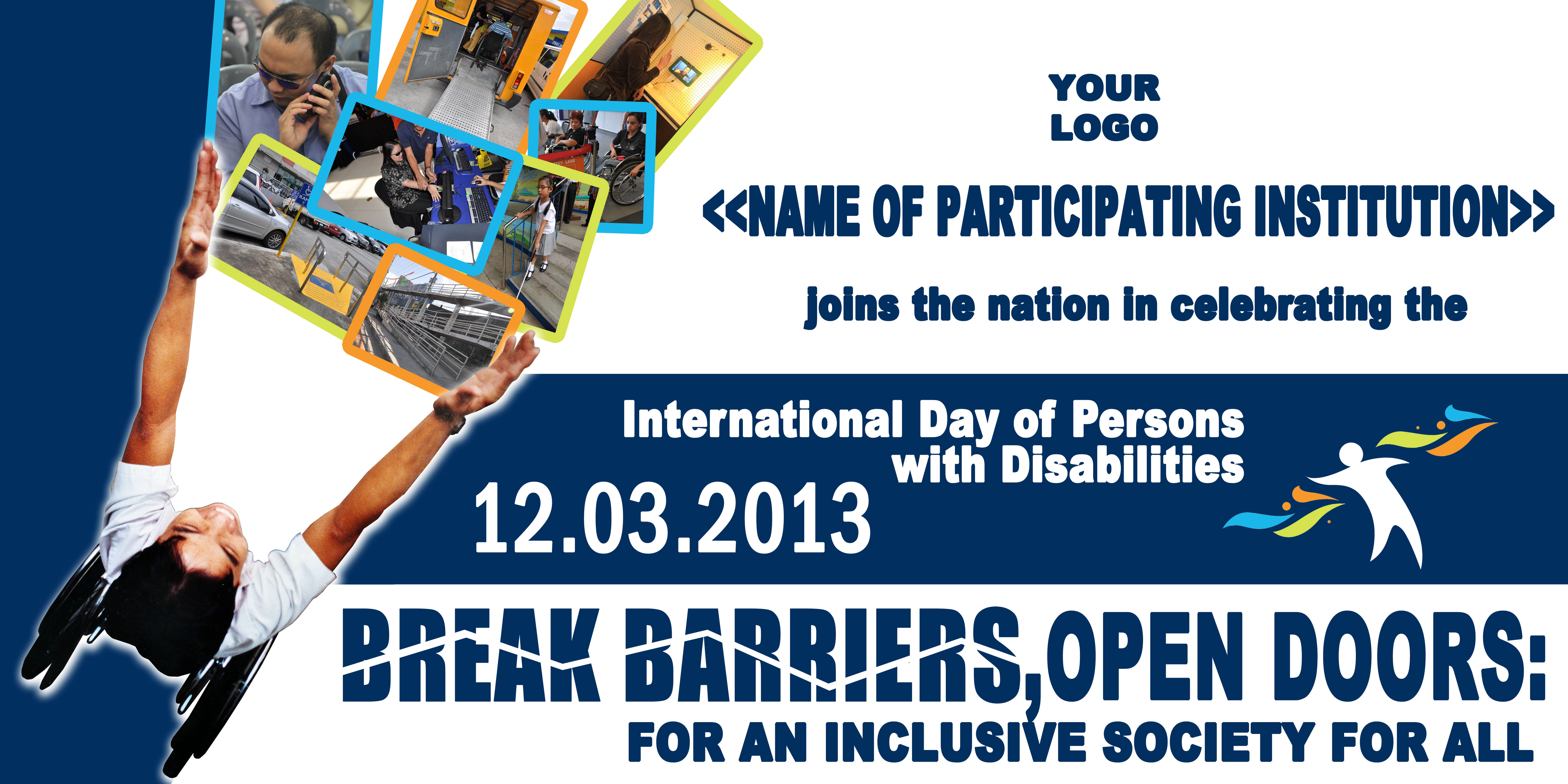 Steamer for the International Day of Persons with Disabilities