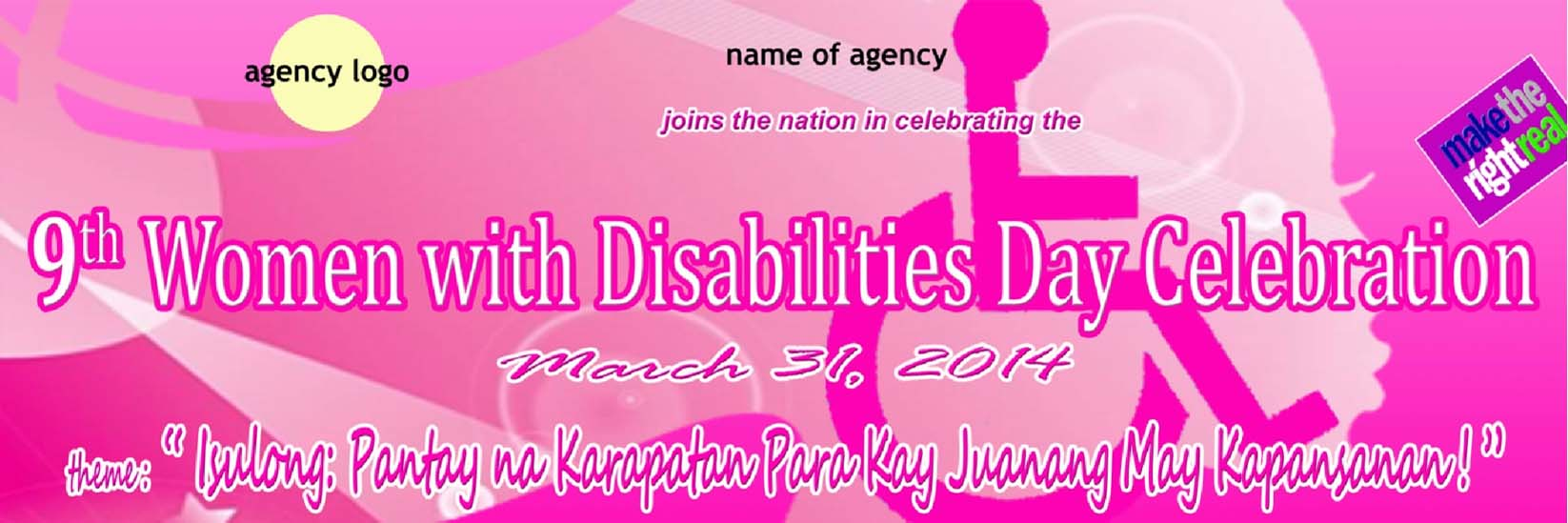 9th Women with Disabilities